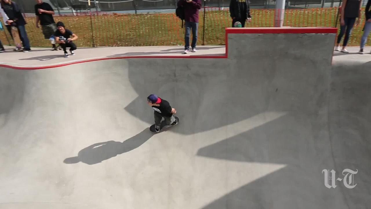 New Skate Park Opens In Linda Vista The San Diego Union