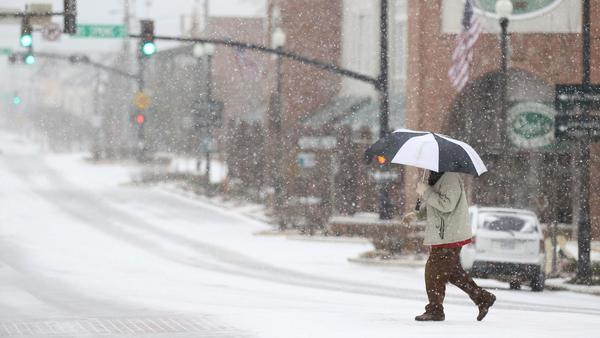 Deep South grapples with yet another winter storm