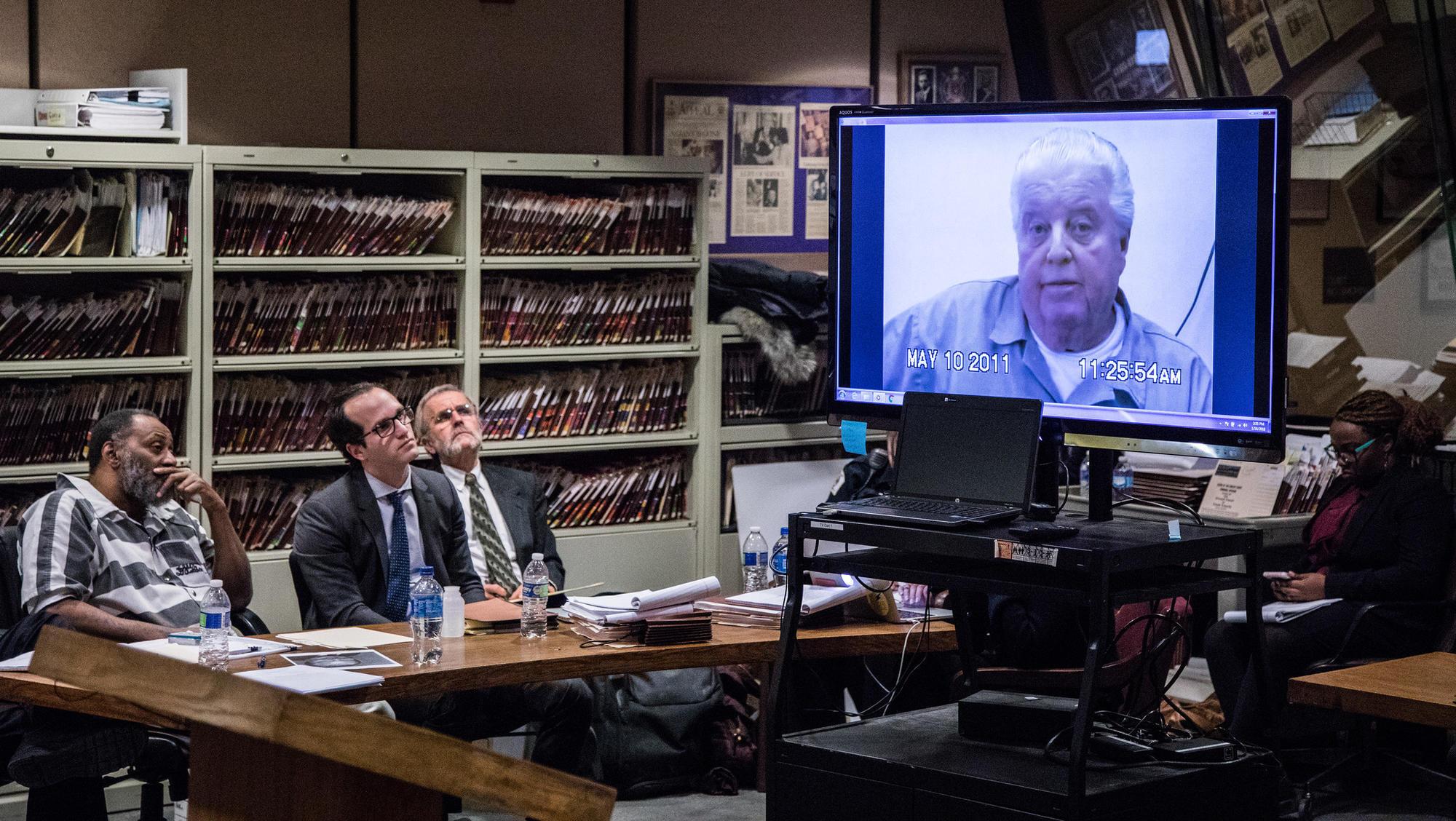 Video played in court shows Jon Burge taking 5th in alleged torture case