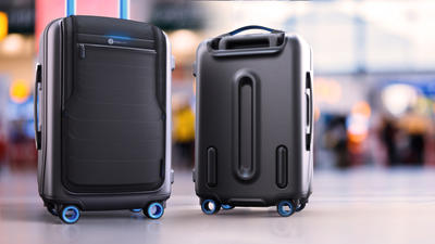 Can't remove the lithium battery from your smart luggage? Consider it grounded.