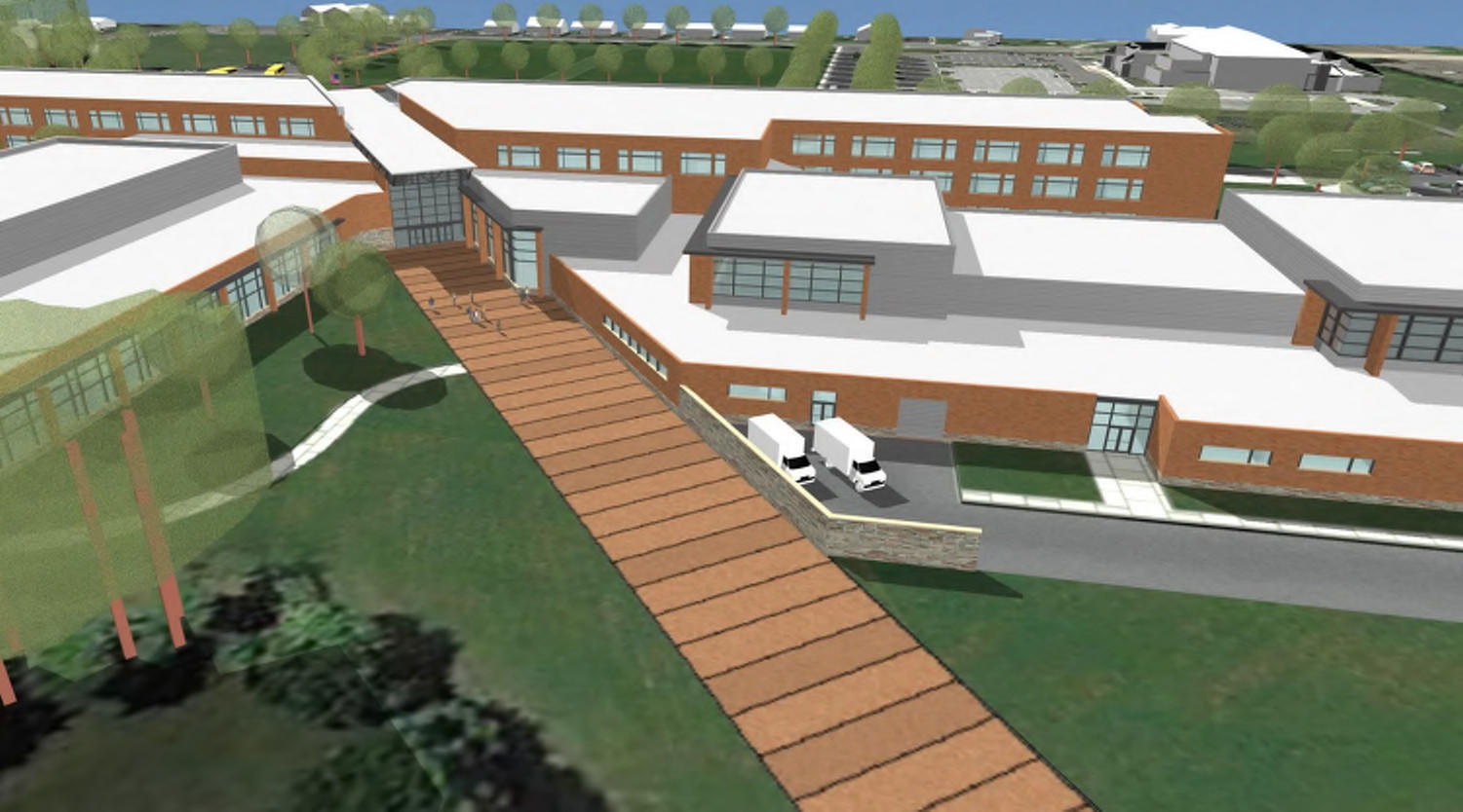 Harford to borrow 50 million part for new havre de grace for Borrowing money to build a house