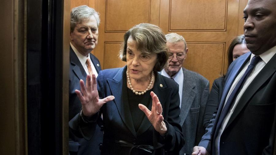 Sen. Dianne Feinstein (Michael Reynolds / EPA/Shutterstock)