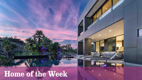 Home of the Week: Beverly Crest showplace strikes a balance between modern and worldly comforts