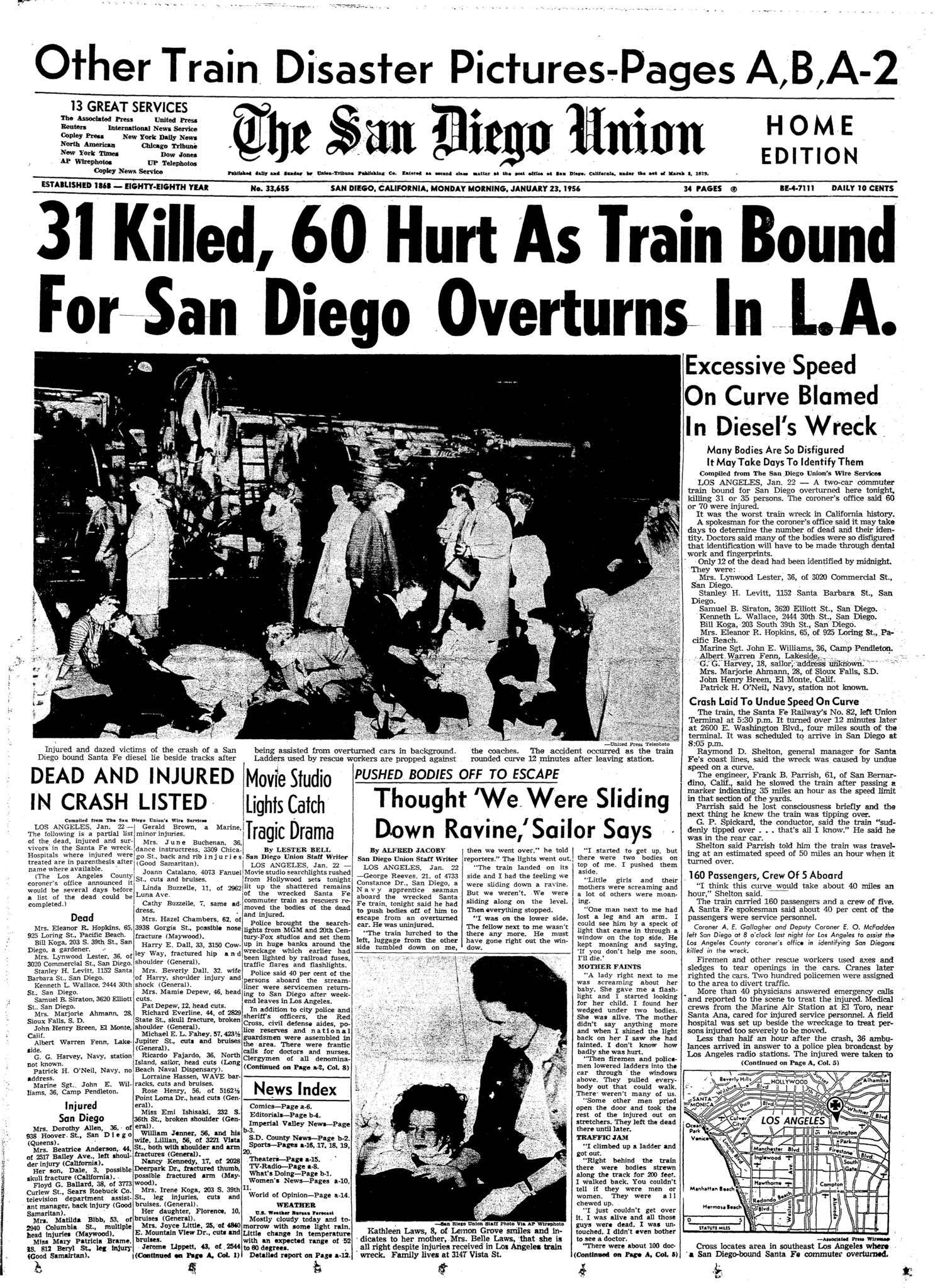 January 23, 1956