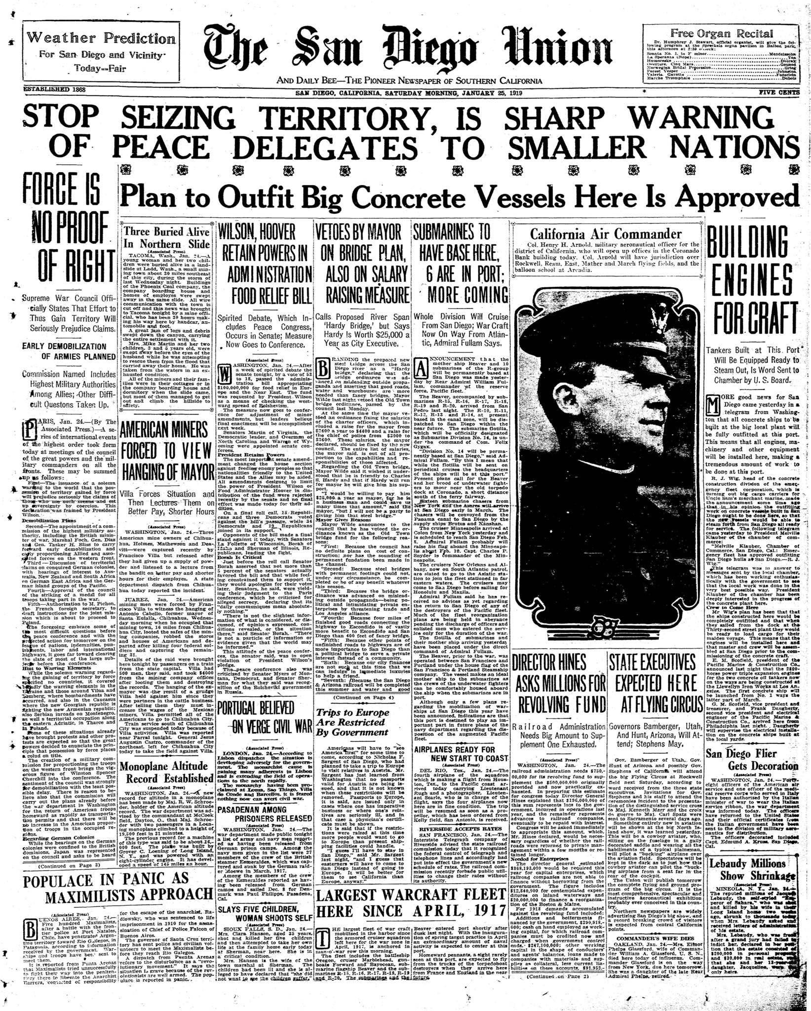 January 25, 1919