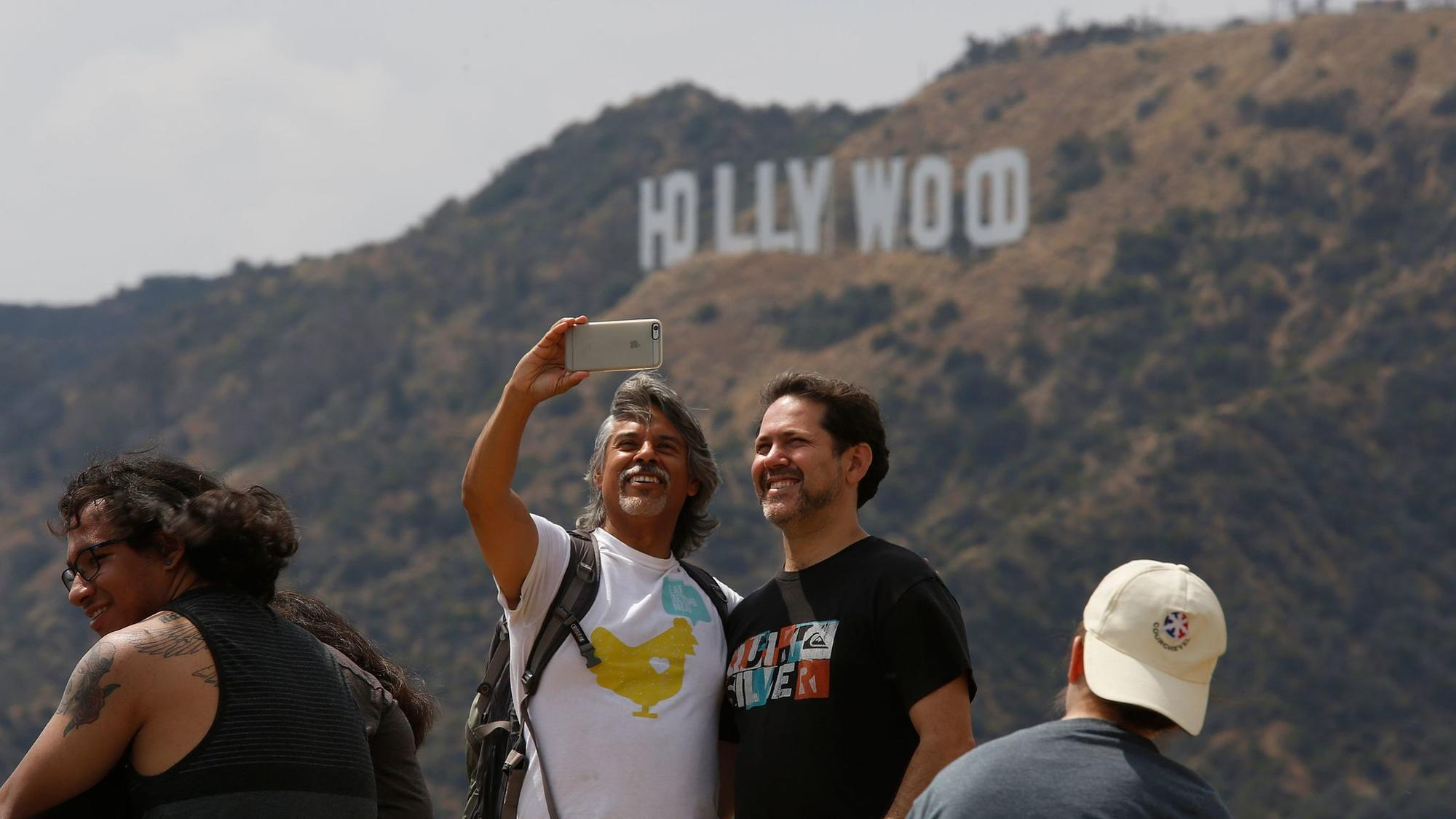 Treat the Hollywood Sign like the tourist attraction it is