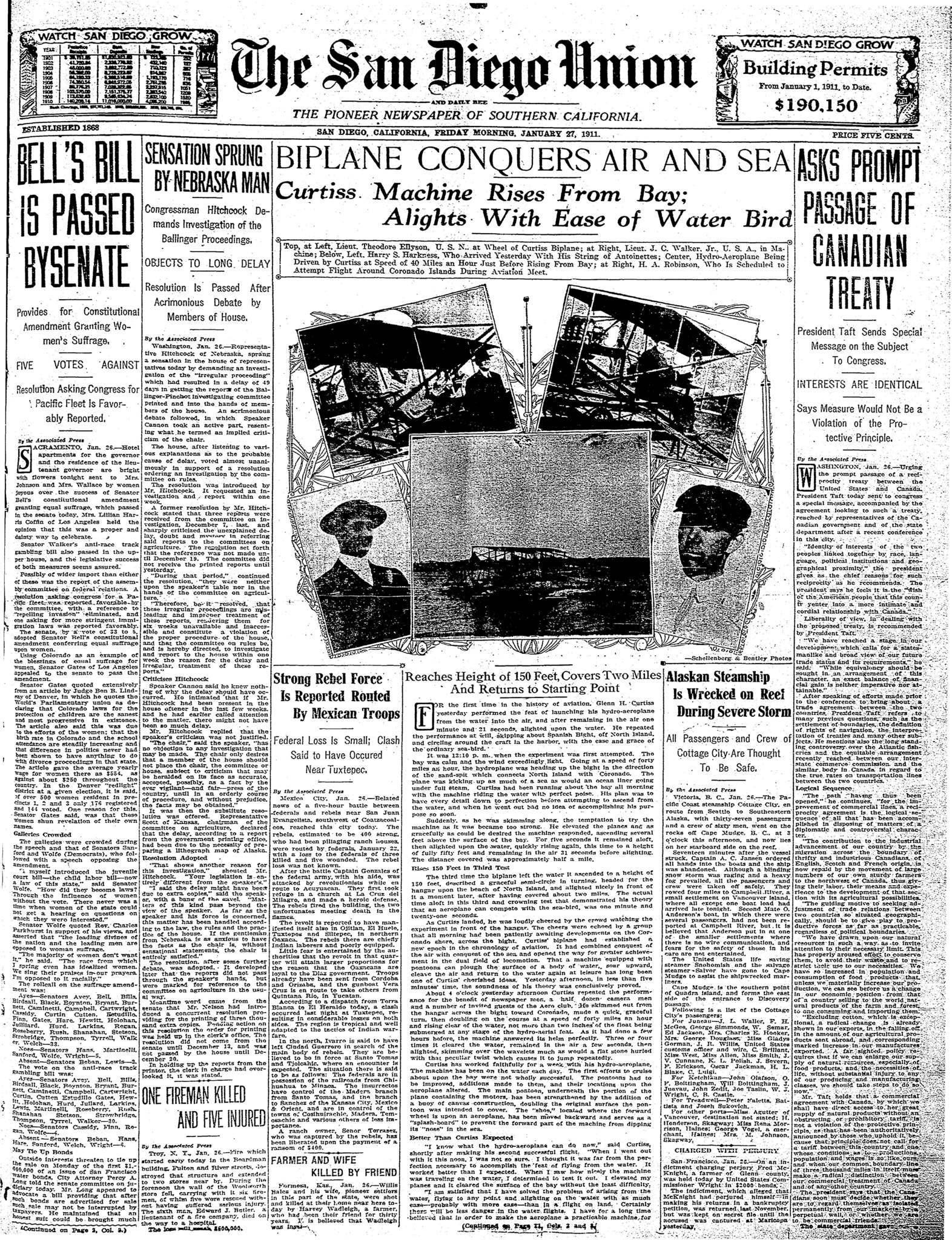 January 27, 1911