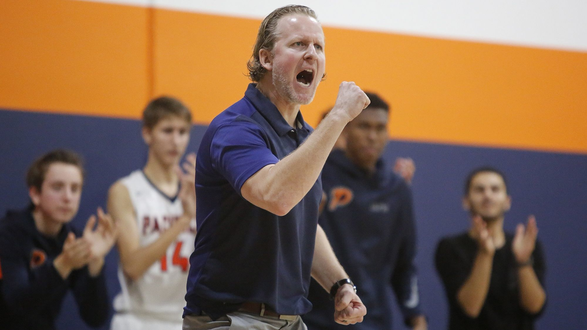 Pacifica Christian Orange County boys' basketball coach Jeffrey Berokoff