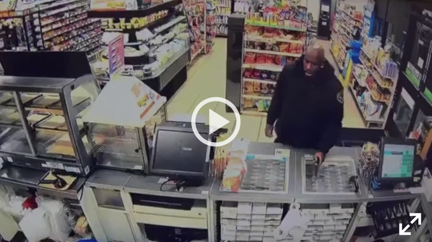 Viral video shows private security guard shooting pair of would-be robbers at Gardena 7-Eleven