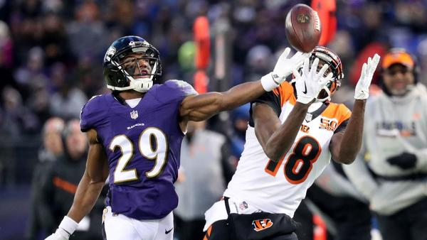 Marlon Humphrey content with biding time to start at cornerback for Ravens