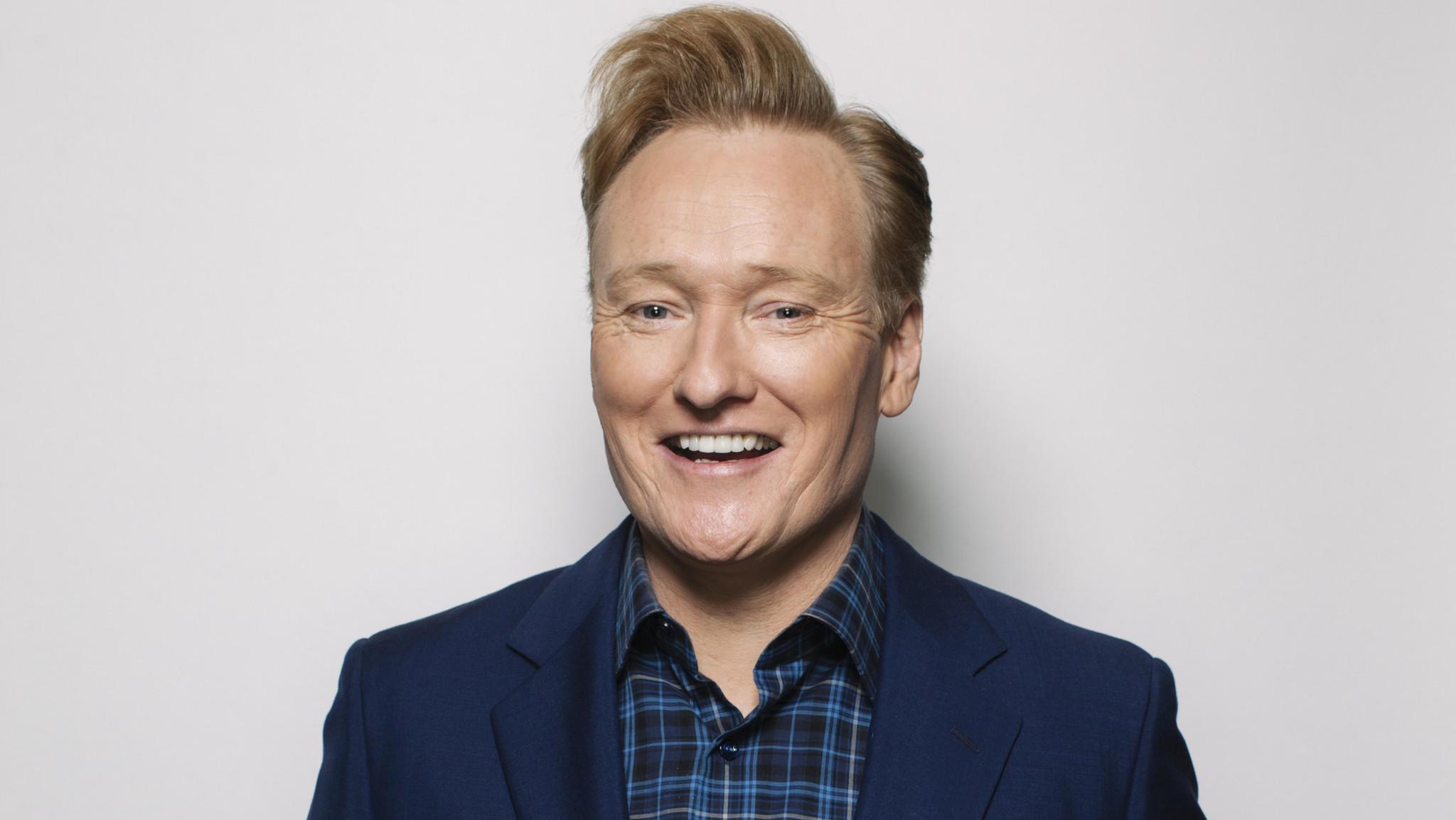 Conan O'Brien. (Jay L. Clendenin / Los Angeles Times)