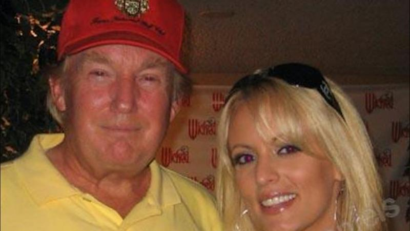 Image result for Trump and porn star