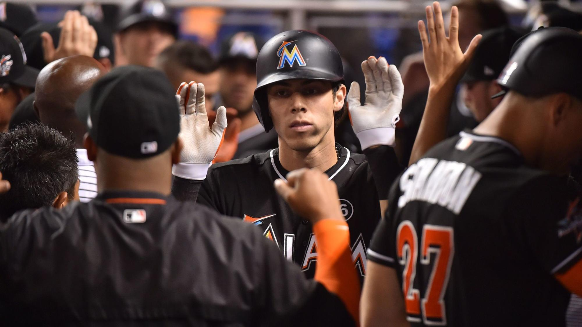 Fl-sp-marlins-christian-yelich-relationship-20180119