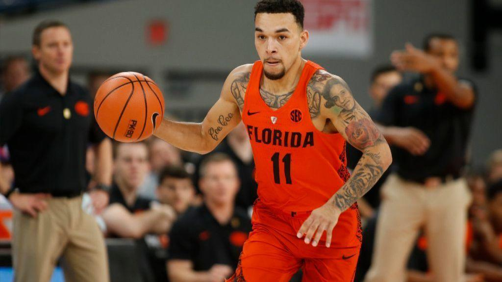 uf big play point guard chris chiozza a wizard on the ForChris Chiozza Tattoo