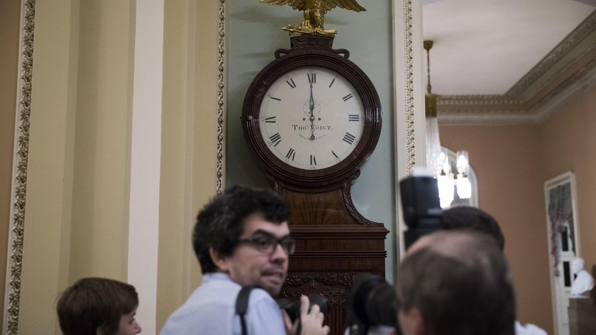 Government shutdown looms as Congress scrambles to agree on a stopgap spending measure
