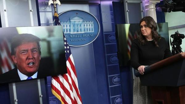 White House on shutdown: 'This is the behavior of obstructionist losers'