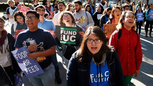 UC regents to vote on increasing tuition and student fees by $342