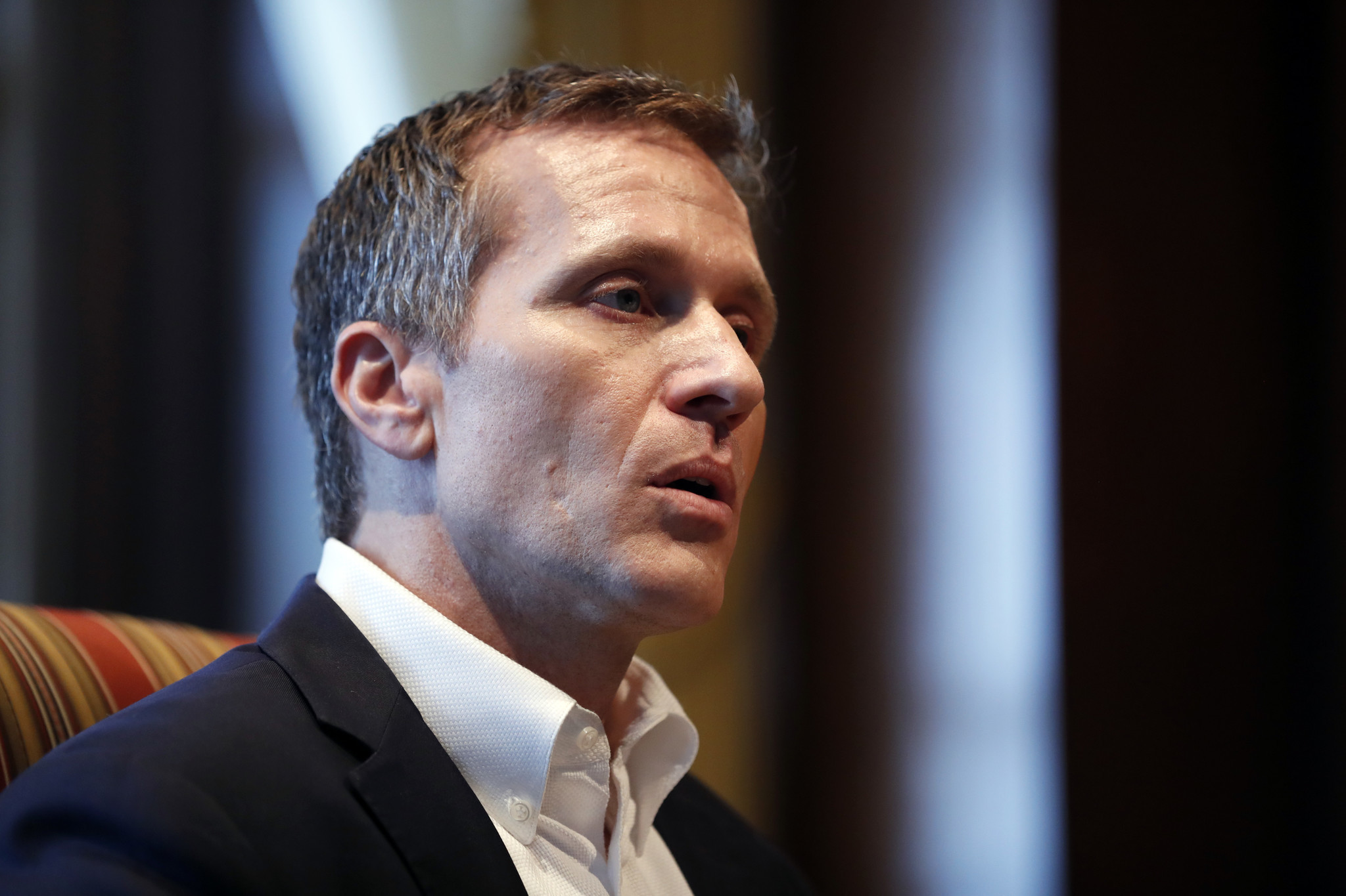 Eric Greitens >> Missouri Gov Eric Greitens Says No Blackmail No Violence In