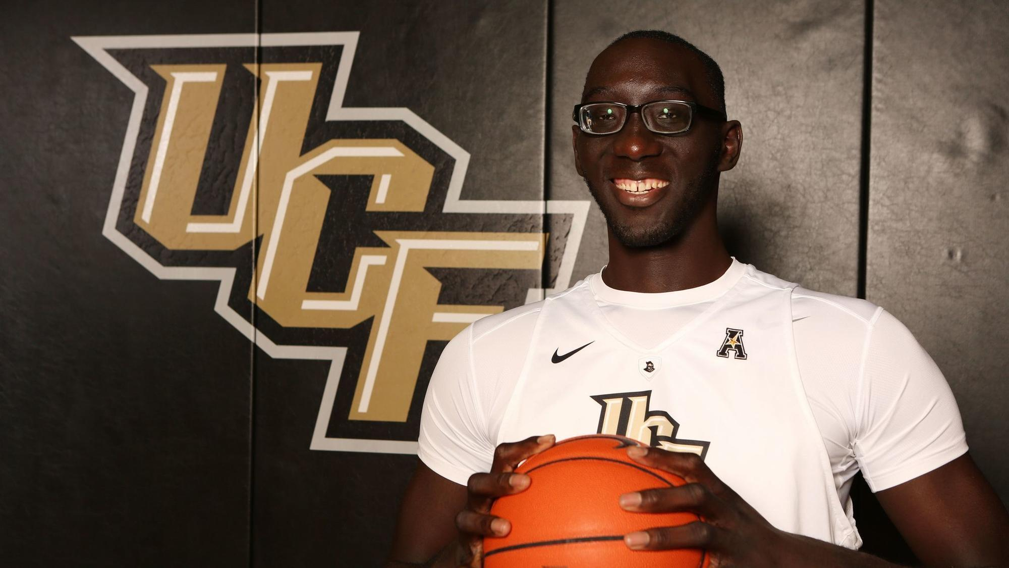 Tacko Fall is out for rest of UCF basketball season - Orlando Sentinel