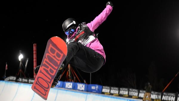 Kelly Clark wins on halfpipe to seal her 5th Olympics