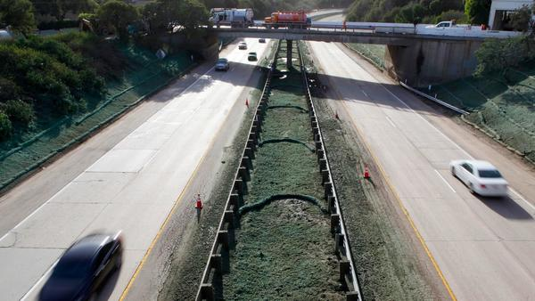 Highway 101 in Santa Barbara County is expected to reopen for Monday morning commute