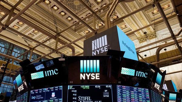Industrial stocks open lower; high-yield stocks edge up