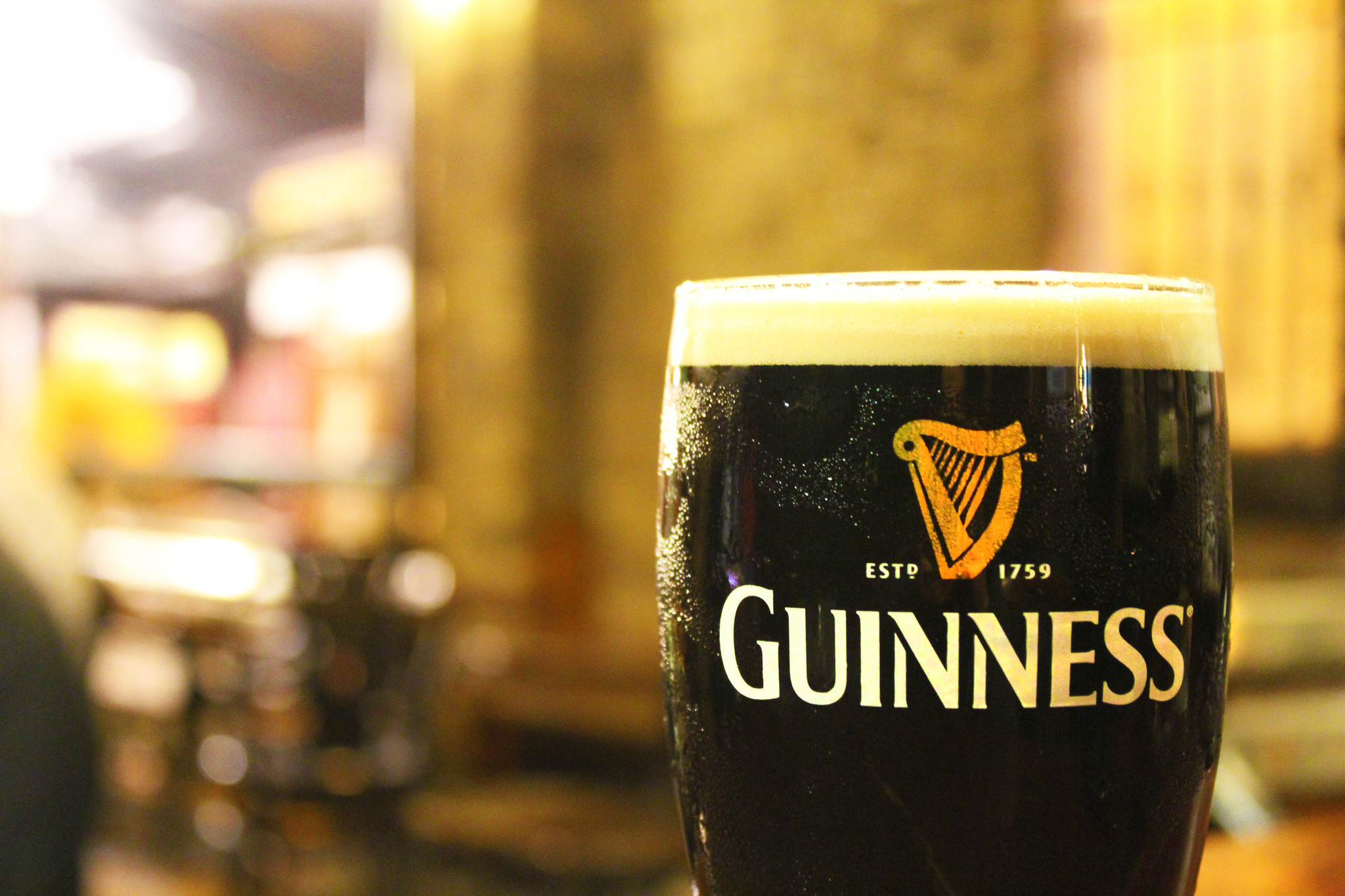 Guinness launches first non alcoholic lager in ireland for Guinness beer in ireland