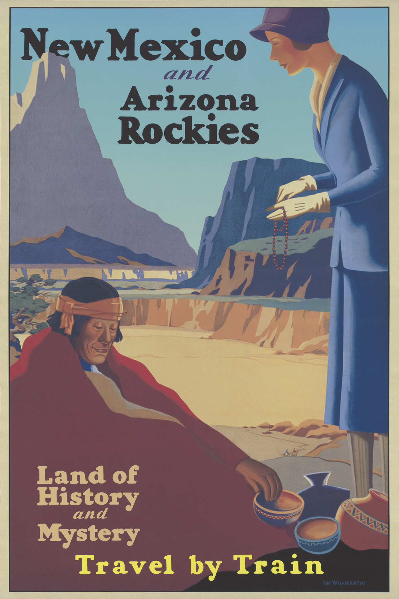 Arizona Travel Poster NMAI