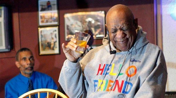 No joke: Bill Cosby does stand-up comedy routine in Philadelphia