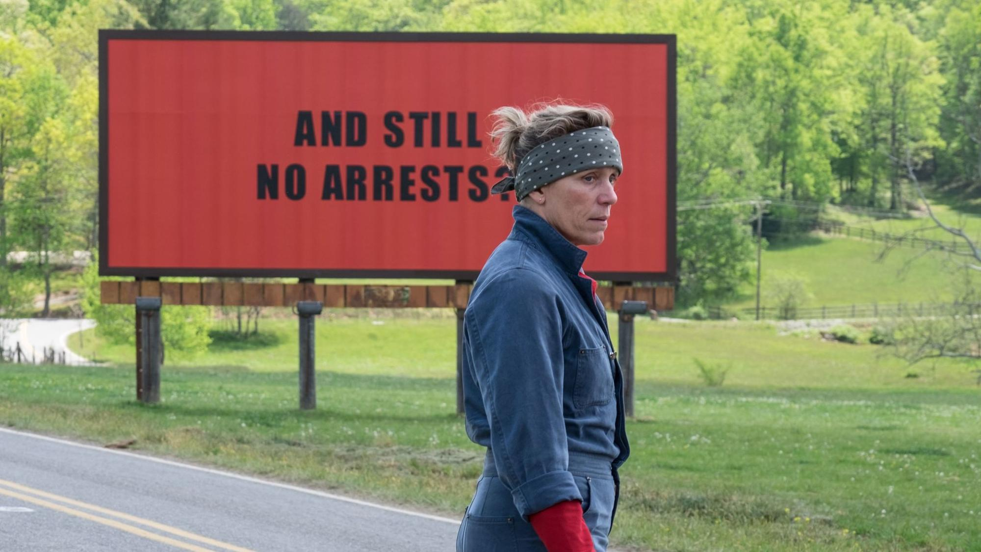 "Frances McDormand in ""Three Billboards Outside Ebbing, Missouri."" (Merrick Morton / Fox Searchlight)"