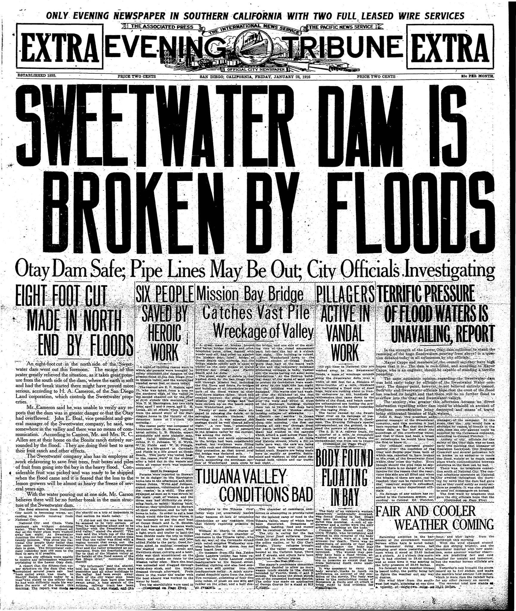 January 28, 1916