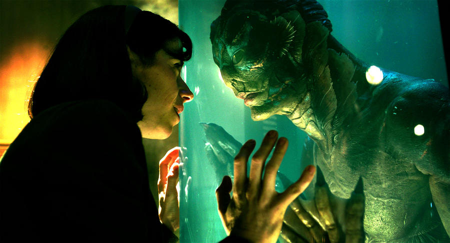 "Sally Hawkins and Doug Jones in ""The Shape of Water."" (Fox Searchlight Pictures)"
