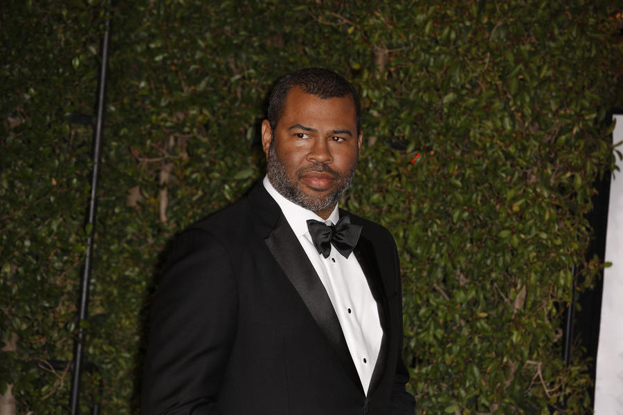 Jordan Peele on the red carpet for the 49th NAACP Image Awards. (Kirk McKoy / Los Angeles Times)
