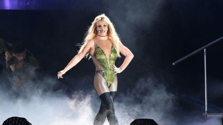 Britney Spears tour to...