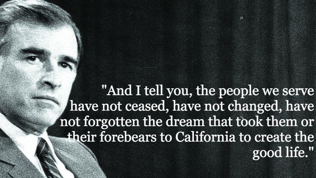 Gov. Jerry Brown 1982