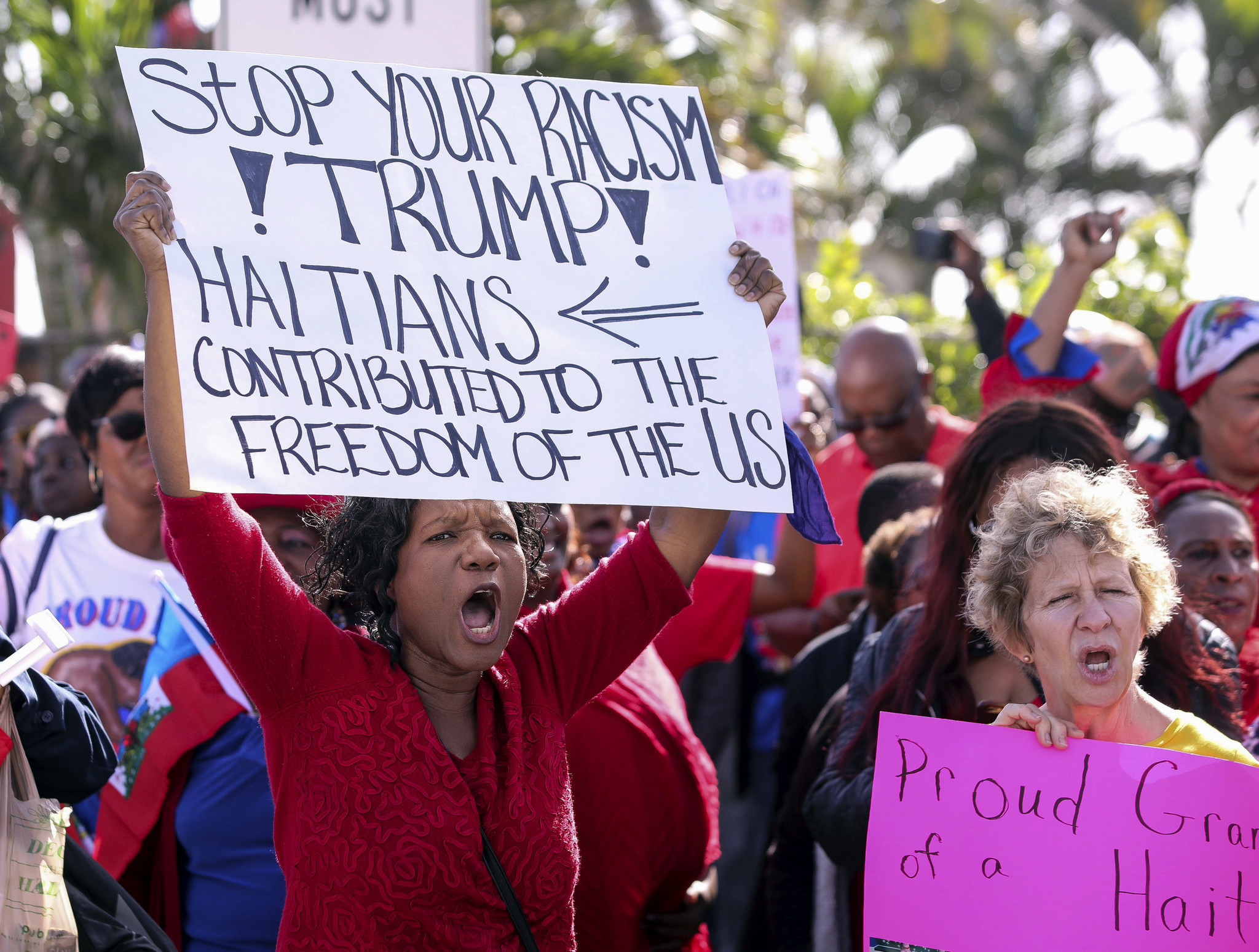 NAACP files lawsuit over Trump's Haiti immigration policy, citing disparaging remark