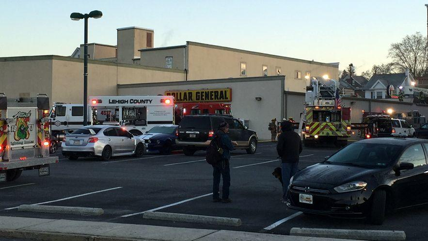 Firefighters Respond To Dollar General In Northampton