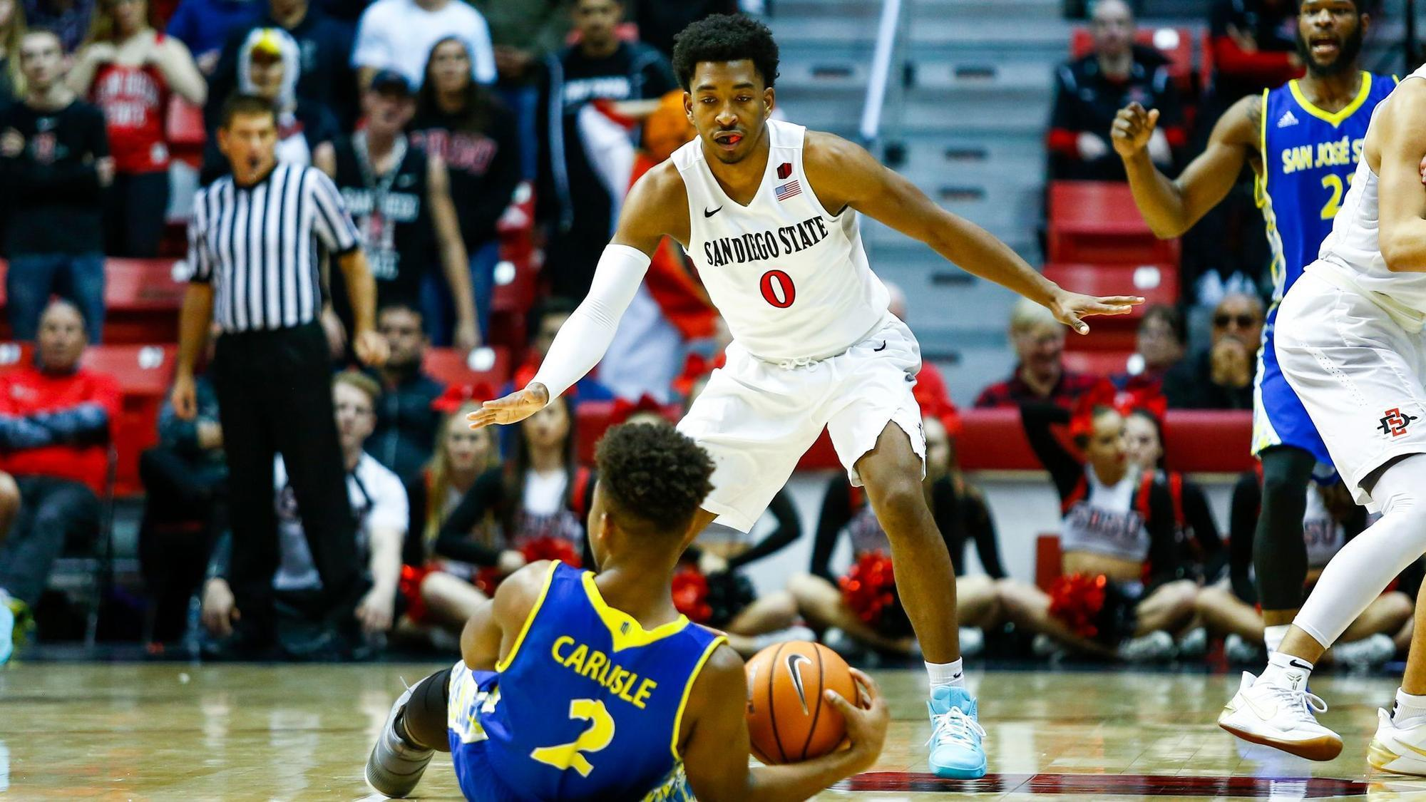 SDSU's Montana is back up in an up-and-down season - The ...