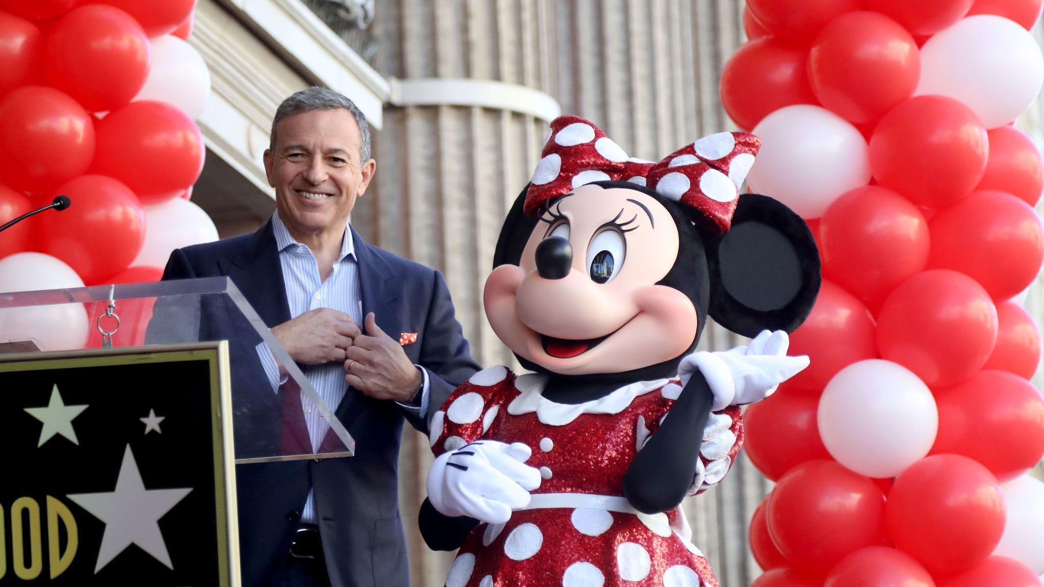 Disney Chief Executive Bob Iger