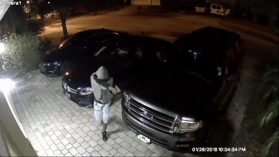 Sanford police looking for man who carjacked woman in for Mercedes benz sanford