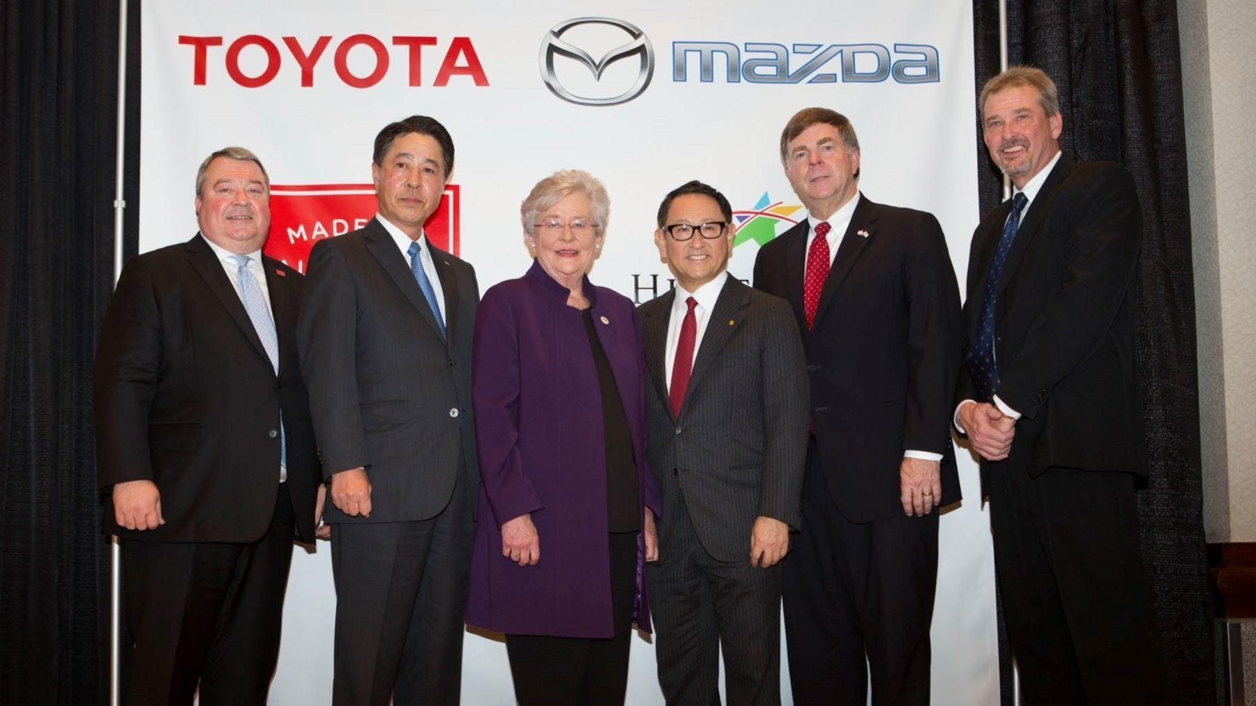 Mazda Toyota In Joint Venture For New Alabama Plant The