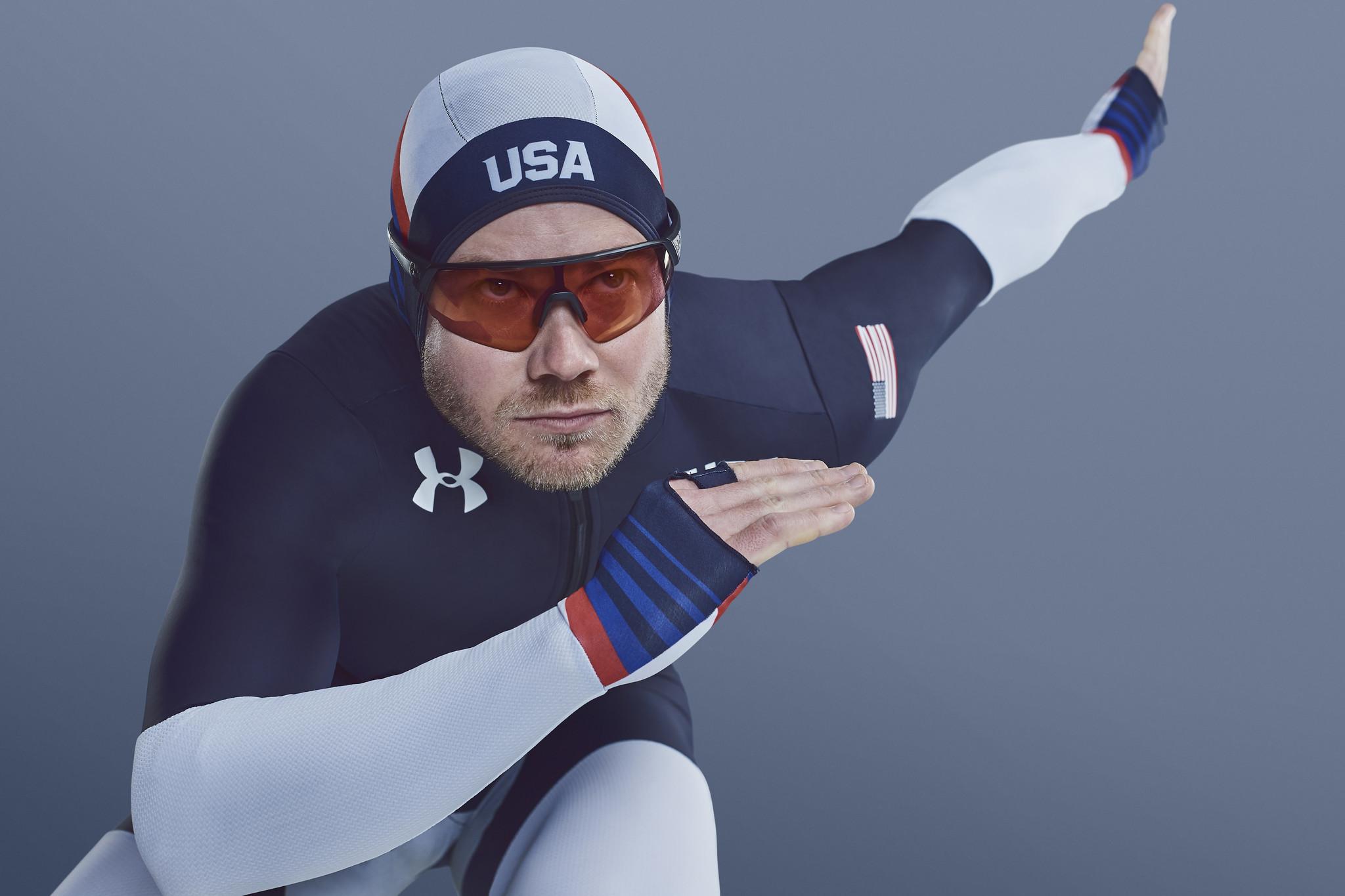 Speed skating racing suit