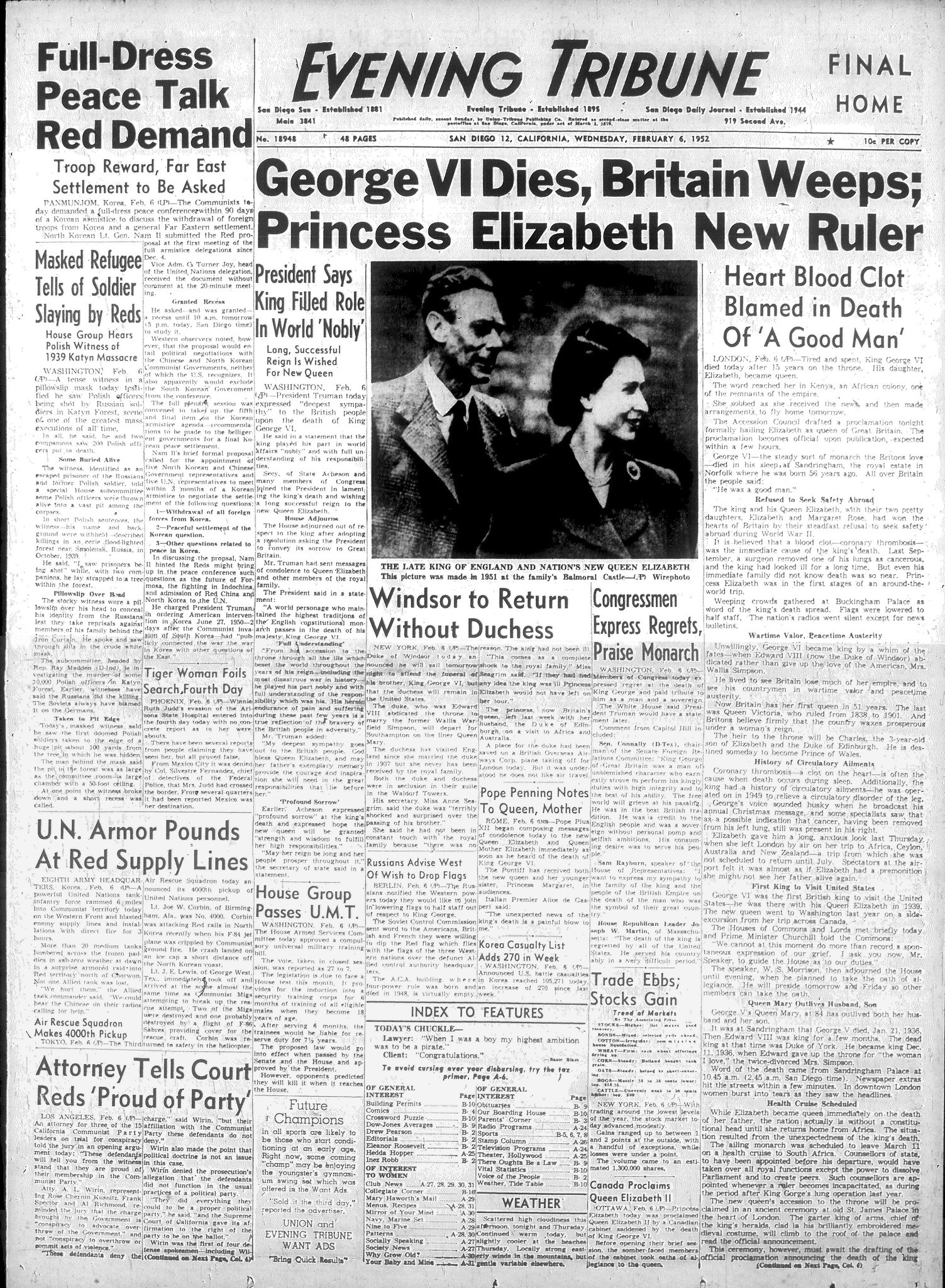 February 6, 1952