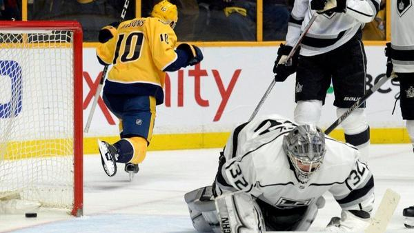Kings Are No Match For Predators In 5-0 Loss