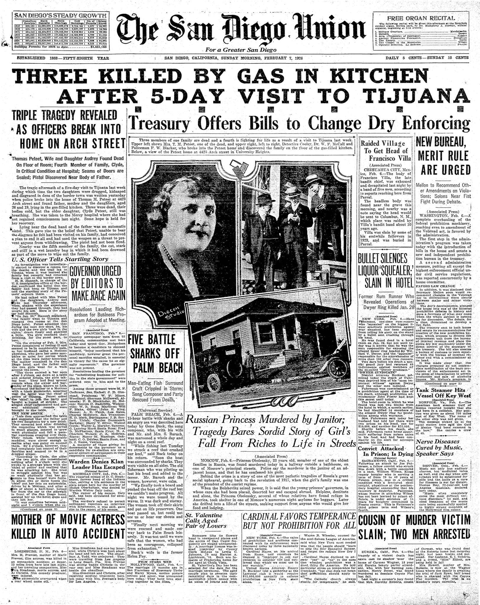 February 7, 1926