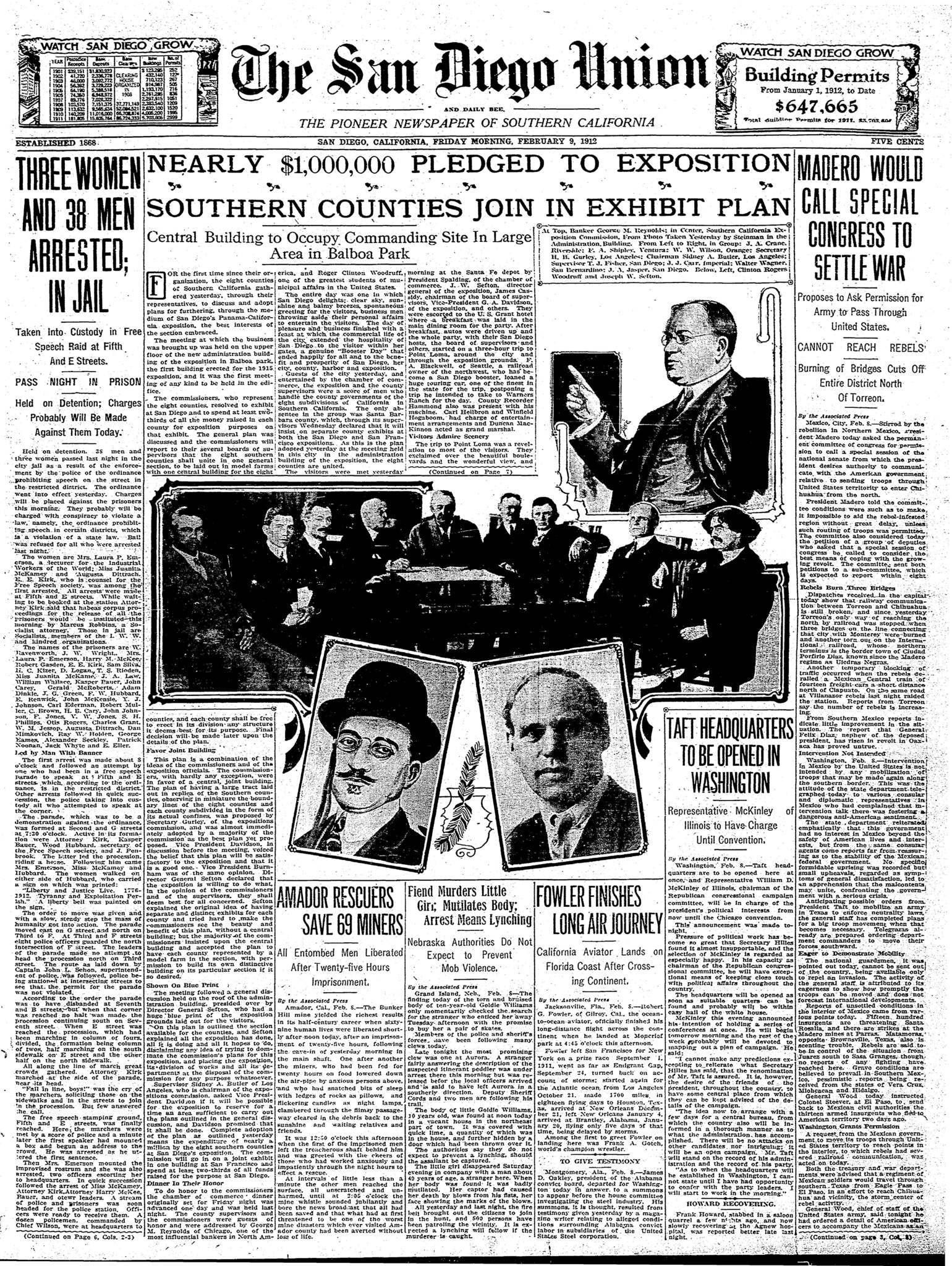 February 9, 1912