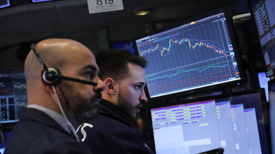 Dow sinks 1,175 points on volatile day; Asian markets tumble early