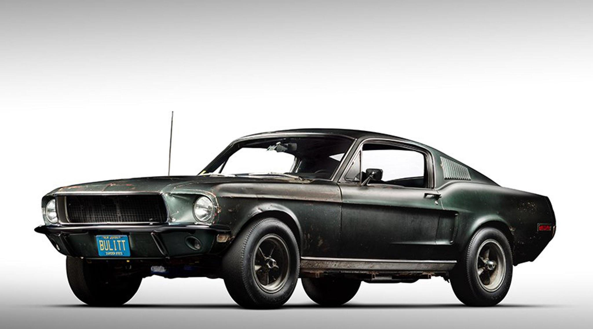 Bullitt\' Mustang, the auto world\'s lost treasure of 50 years ...