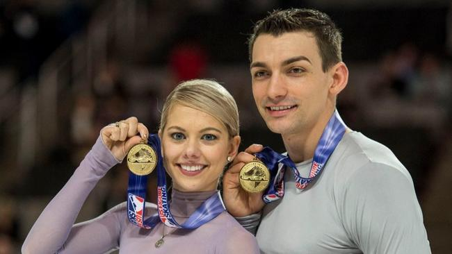 Image result for 2018 olympics figure skating married couple