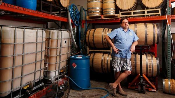 "Bill Rogers, founder of Liberty Call Distilling and San Diego Distillers Guild president: ""We are betting that people who like craft beer will want to drink craft spirits."""